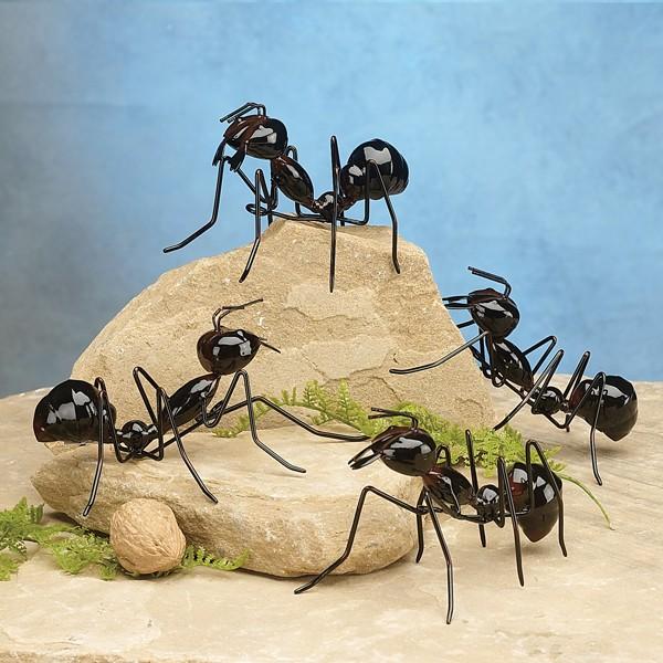 Metal Ant Garden Decor Garden