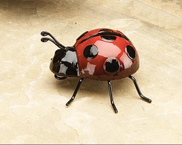 Small Metal Ladybug