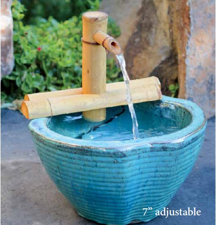 """7"""" Adjustable Bamboo Fountain Kit"""