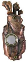 Bronze Golf Bag   Doorbell Cover