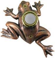 Bronze Frog Doorbell Cover