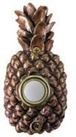 Bronze Pineapple Doorbell Cover