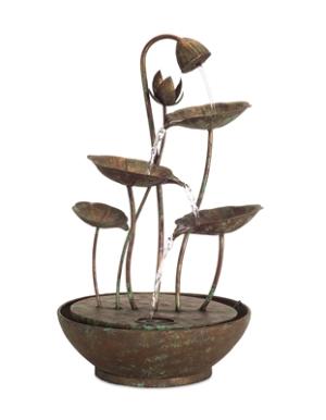 Lotus Leaf Fountain