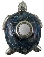 Nickel-plated Turtle Doorbell Cover