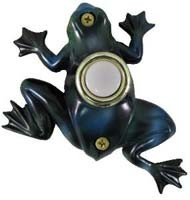 Painted Frog Doorbell Cover