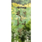 Hummingbird Mobile with Bells