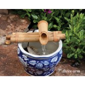 "7"", 3-Arm Bamboo Fountain Kit"