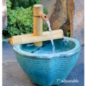 "7"" Adjustable Bamboo Fountain Kit"
