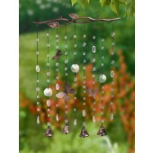 Butterfly Window Catcher with Beads