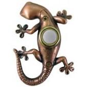 Bronze Gecko Doorbell Cover