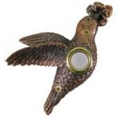 Bronze Hummingbird Doorbell Cover