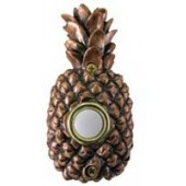 Bronze Pineapple Doorbell Cover
