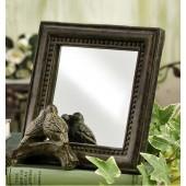 Rustic Bird Mirror