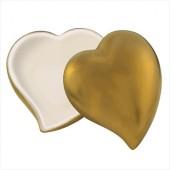 Gold Heart Trinket Box (Large)