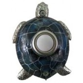 Nickel-plated Turtle Doorbell Cover