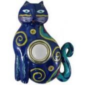 Painted Cat Doorbell Cover