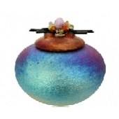 Raku Dream Catcher Jar