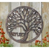 """Reflect"" Tree Mirror Plaque"